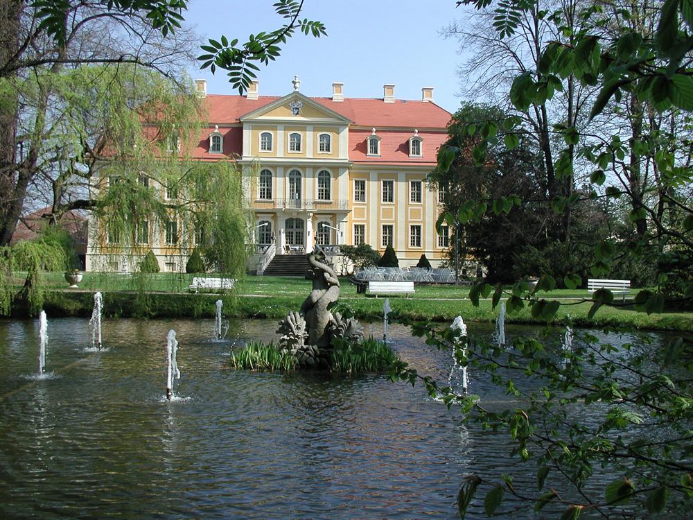 Barockschloss Rammenau bei Dresden.