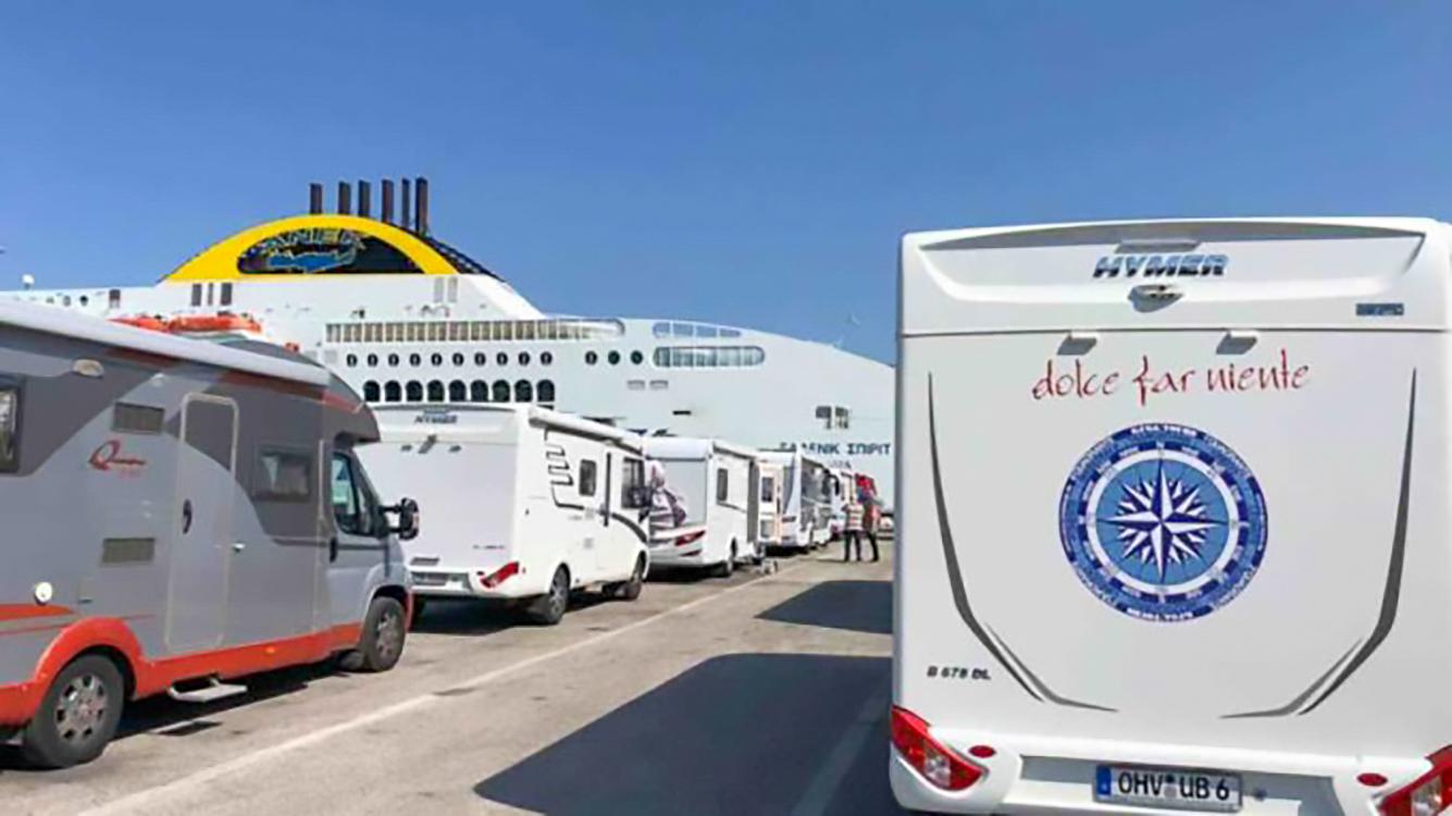 Treffpunkt und Einschiffung in Ancona, Foto: KUGA Tours